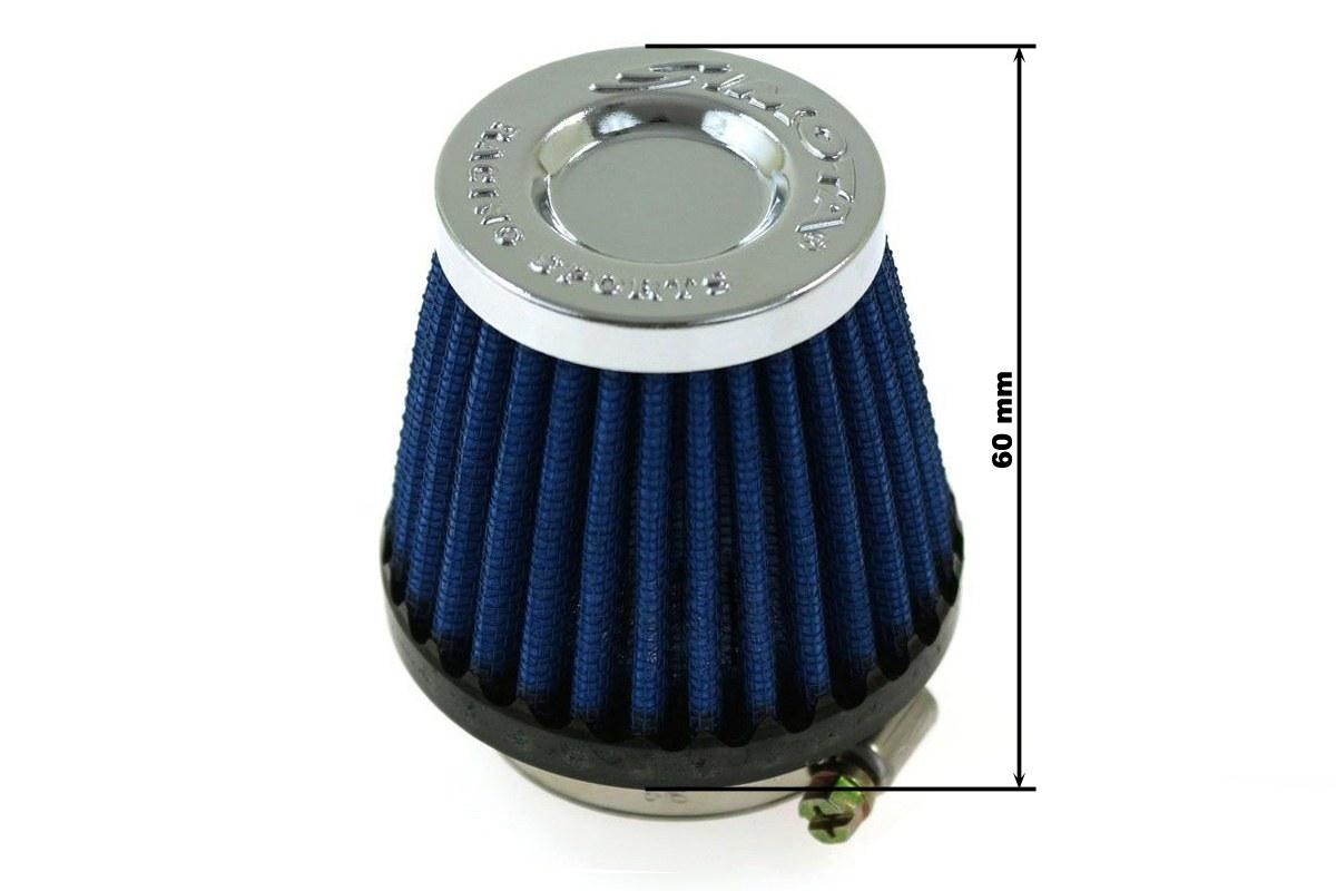 Moto Filtr stożkowy SIMOTA 50mm JAU-ME32223-24 - GRUBYGARAGE - Sklep Tuningowy